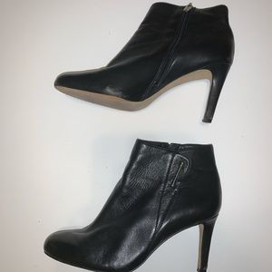 Soft genuine leather Vince Camuto black boots